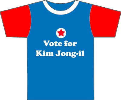 Vote for Kim Jong-il