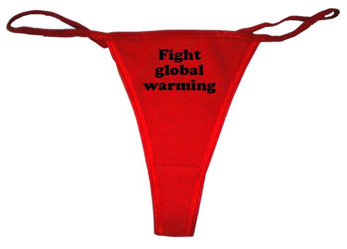 Fight global warming Women
