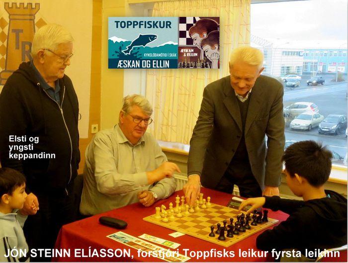ÆSKAN OG ELLIN XIII 2016  fyrsti leikurinn