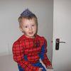Spiderman á öskudegi