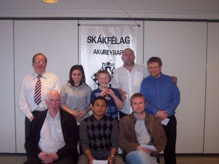Minningarmót um Albert Sigurðsson 2008