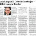 Landakaupamál Grindavíkur Eitt hörmungarklúður