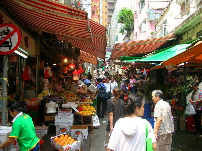 wet market hong kong