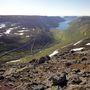 Súgandafjörður, horft af Búrfelli
