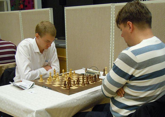 Emanúel Berg sem teflt hefur með Fjölni í 1. deild varð í öðru sæti á Västerås Open
