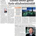 24 071214 Leiðin greið fyrir olíuhreinsistöð