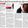 DV 091028 JóhannHauks Krassandi og afgerandi