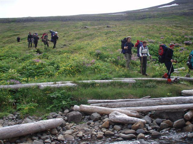 Á leið í Kjaransvík