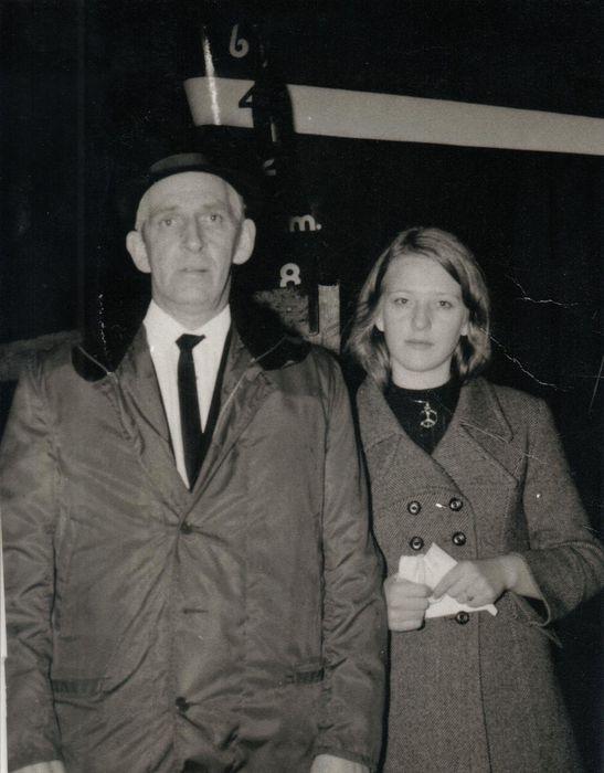 Óskar og dóttir hans Þórunn