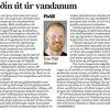 Leiðin úr vandanum - grein Ívars Jónssonar í Morgunblaðinu 4. janúar 2010