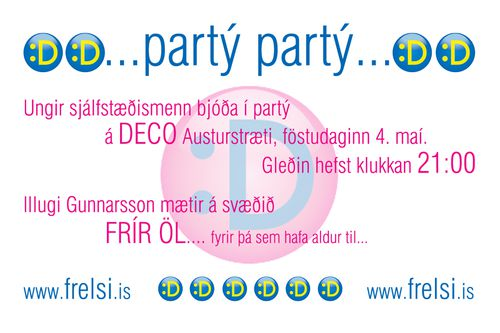 party 4 mai 07