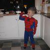 Spiderman klár í Öskudagsslaginn 2009