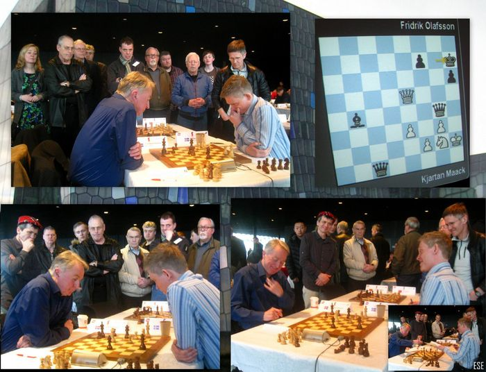 GM Fridrik Olafsson (78) shows old brilliance tactics  ese