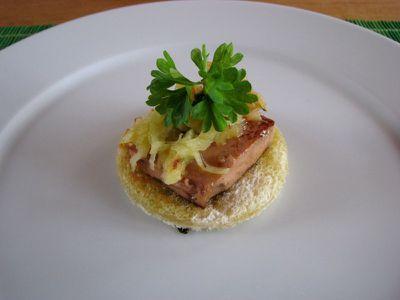 foie gras tilbúið