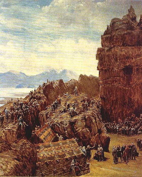 Þingvellir eftir Collingwood