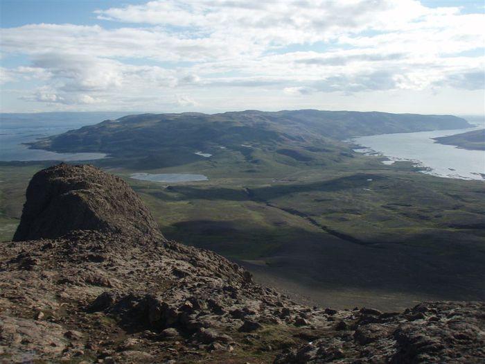 Reykjanesið Berufjörður og Þorskafjörður