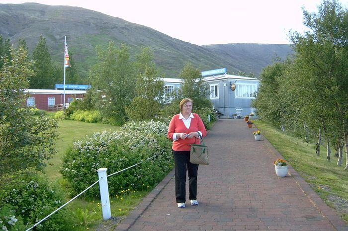 Erna við Húsmæðraskólann