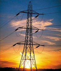 765kV_tower_sunset