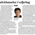 ESB - Landráðamaður í valþröng - Kristján Jónsson - 4.1.09