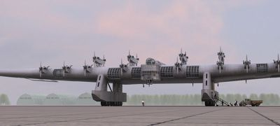 Russian Flying Fortess K-7