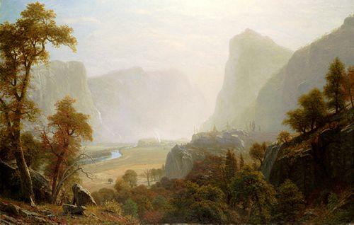 Hetch Hetchy Valley From Road, Albert Bierstadt