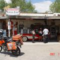 Hackberry general store á Route 66