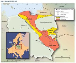 Poland-Gas-shale-basins