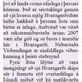 Dagskráin 090219 Hveragerði vinsælt