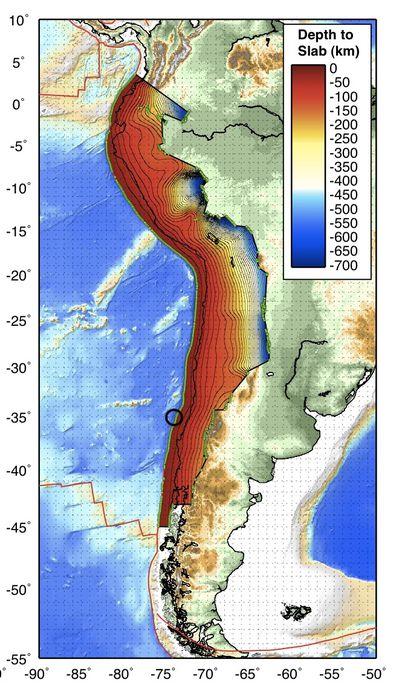 Dýpi Nazca flekans