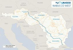 Nabucco-West-Pipeline-Map