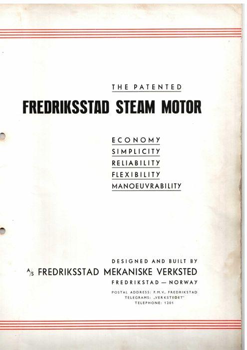 Fredrikstad Steam Motor
