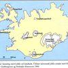 glaciers in iceland fyrir 1000 years ago