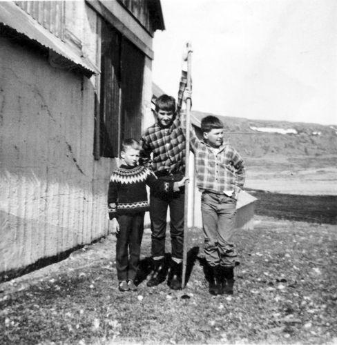 Kiddi, Þorgeir og Eiríkur