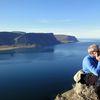 Á Mýrafelli við Dýrafjörð.