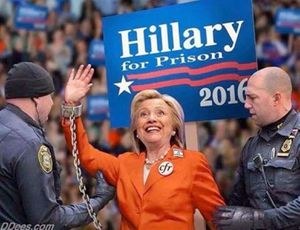 Hellary for prison