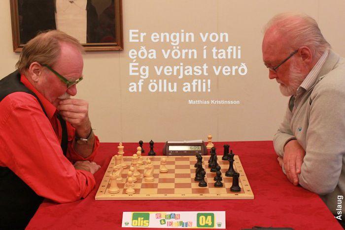 Gísli Gunnlaugs vs. Þór Valtýs í hörðum slag  26.10.2013 16 53 48