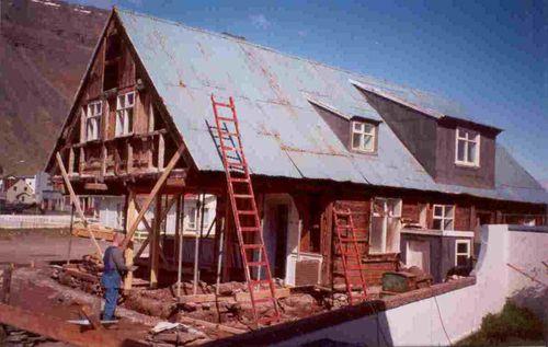 Faktorshúsið í Hæstakaupstað 1998