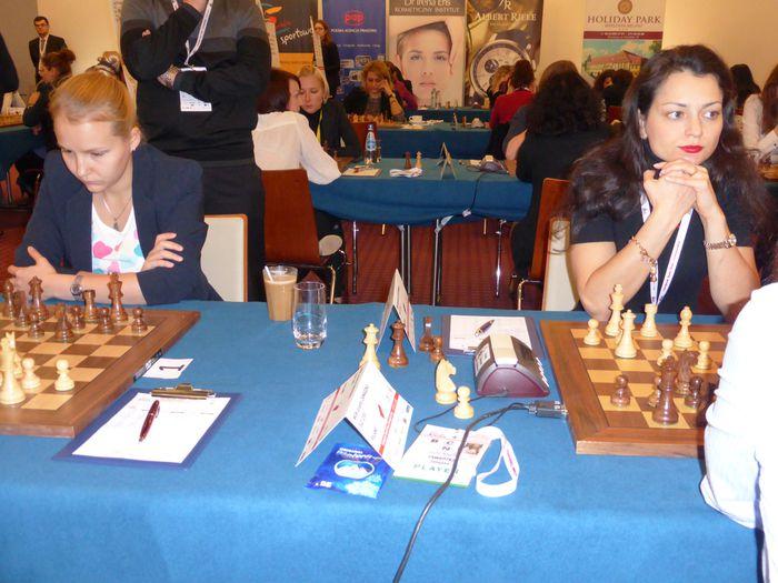 Valentina Gunina og Alexandra Kosteniuk
