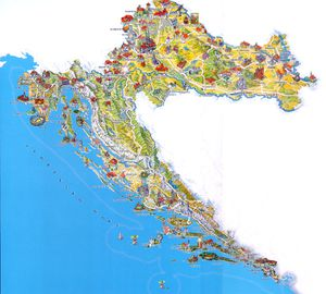 tourist-croatia-map