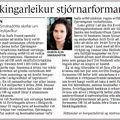 Fbl 091106 Sigrún Elsa Blekkingarleikur stjórnarformanns