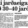 Moggi 060827 Uppkaup á Jörðum forsíða
