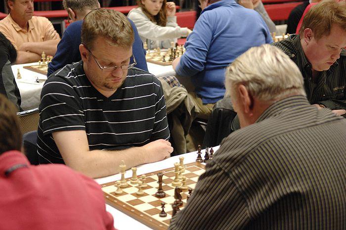 Sverrir Þór að tafli á Västerås Open