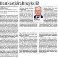 Fbl 090321 Hannes Hólmsteinn Bankastjórahneykslið