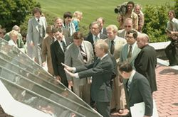 US-White-House-1979-Jimmy-Carter-PV-roof