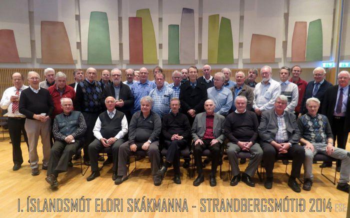 Þátttakendur fyrsta Íslandsmóts eldri skákmanna   ESE 22.11.2014 15 25 43