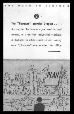The Illustrated Road to Serfdom Planners