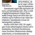 Íslandsbanki vinnur náið með Geysi Green