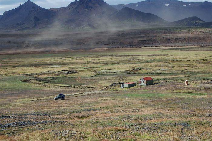 Skálinn við Hlöðufell