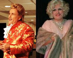 Cross dressing Manhattan dandy, entertainer and abortionist, Rudy Giuliani