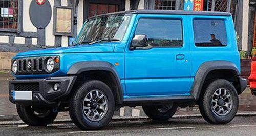 375px-2019 Suzuki Jimny SZ5 4X4 Automatic 1.5 Front